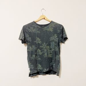 Zara green t-shirt size 8 boys